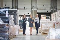 Wirtschaft, Spedition Dachser - drei Frauen leiten Standort Grevenmacher, Foto: Lex Kleren/Luxemburger Wort