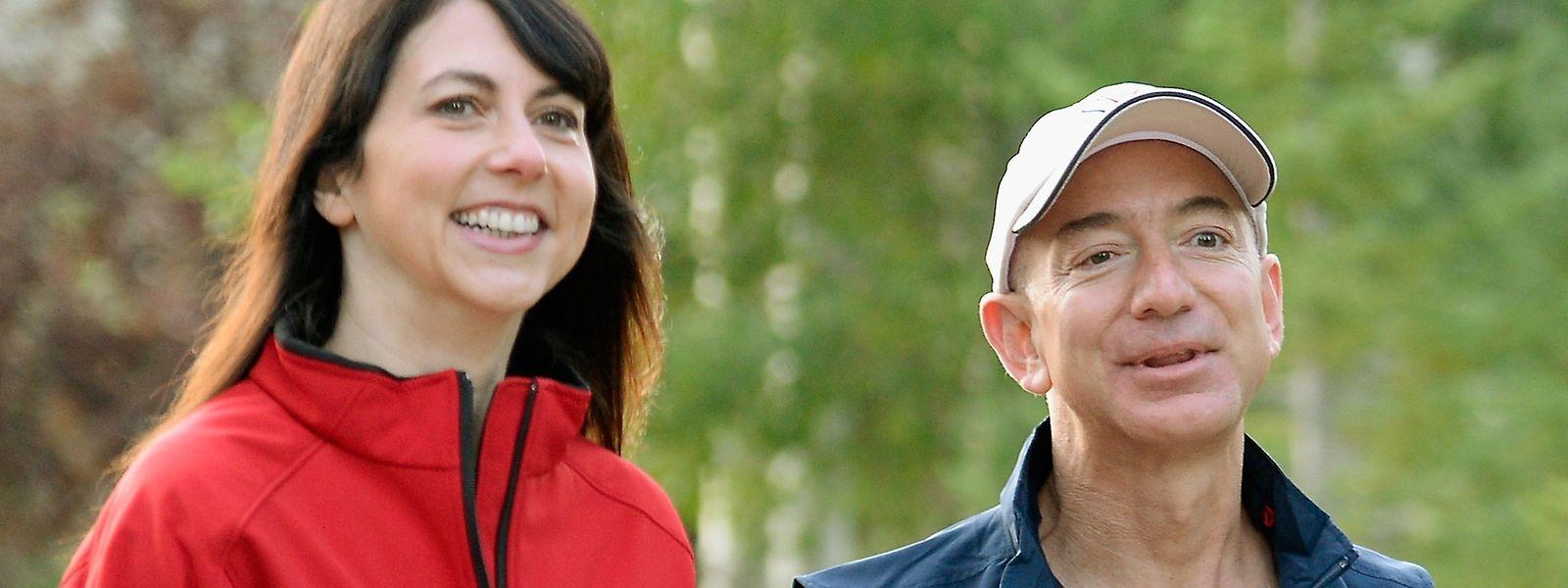 Jeff Bezos und Mackenzie Bezos trennen sich nach 25 Ehejahren.