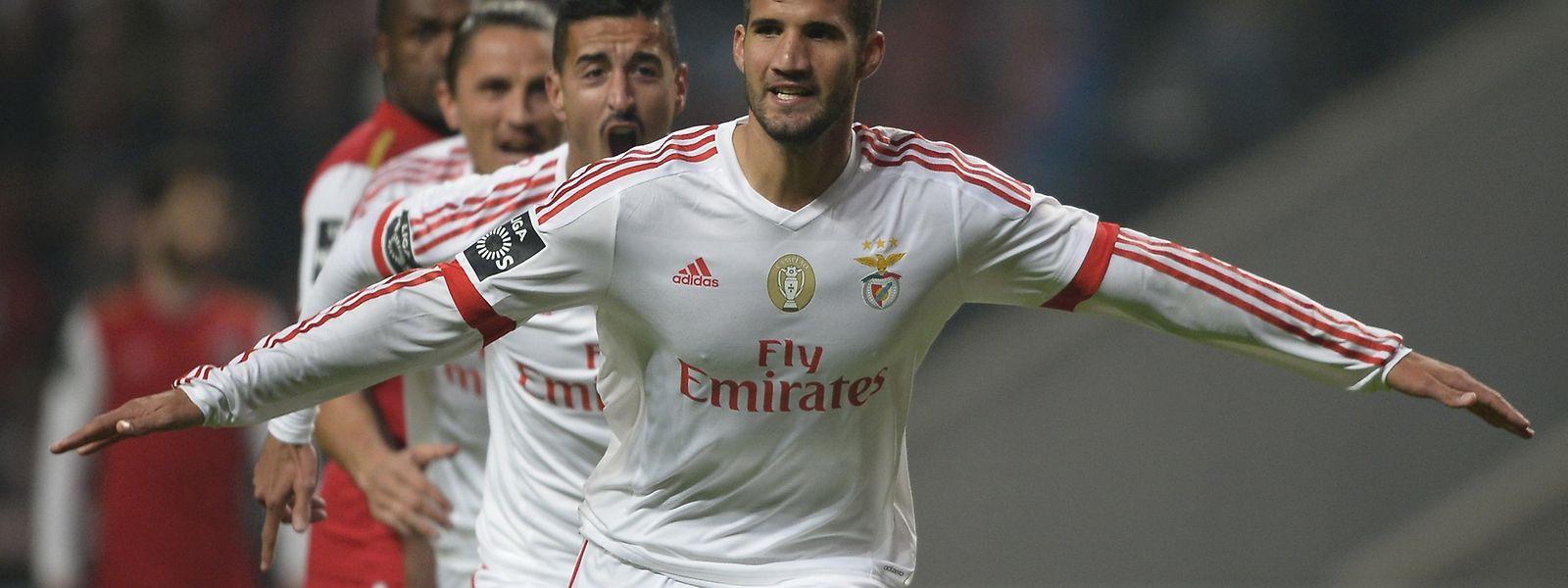 Lisandro Lopez marcou o segundo golo do Benfica em Braga