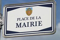 "SCHILD ""MAIRIE"" PHOTO ANOUK ANTONY"