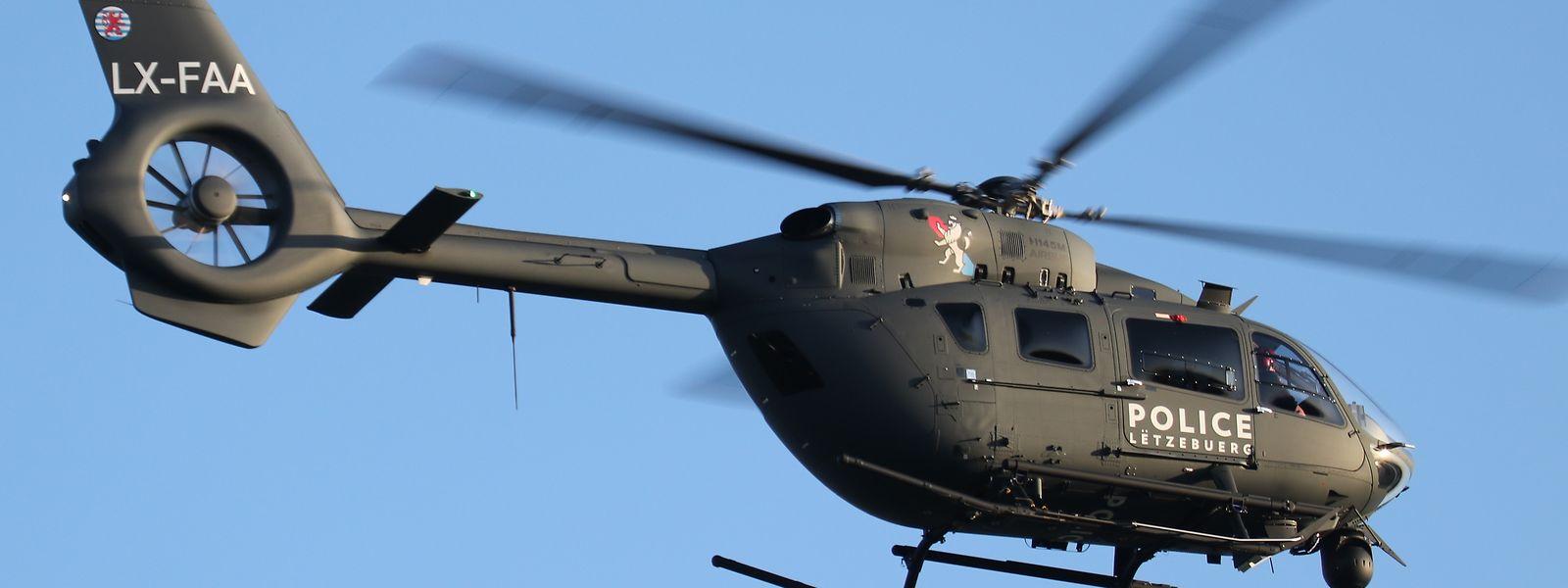 LX-FAA lautet die Kennung des ersten neuen Hubschraubers der Luxemburger Polizei.