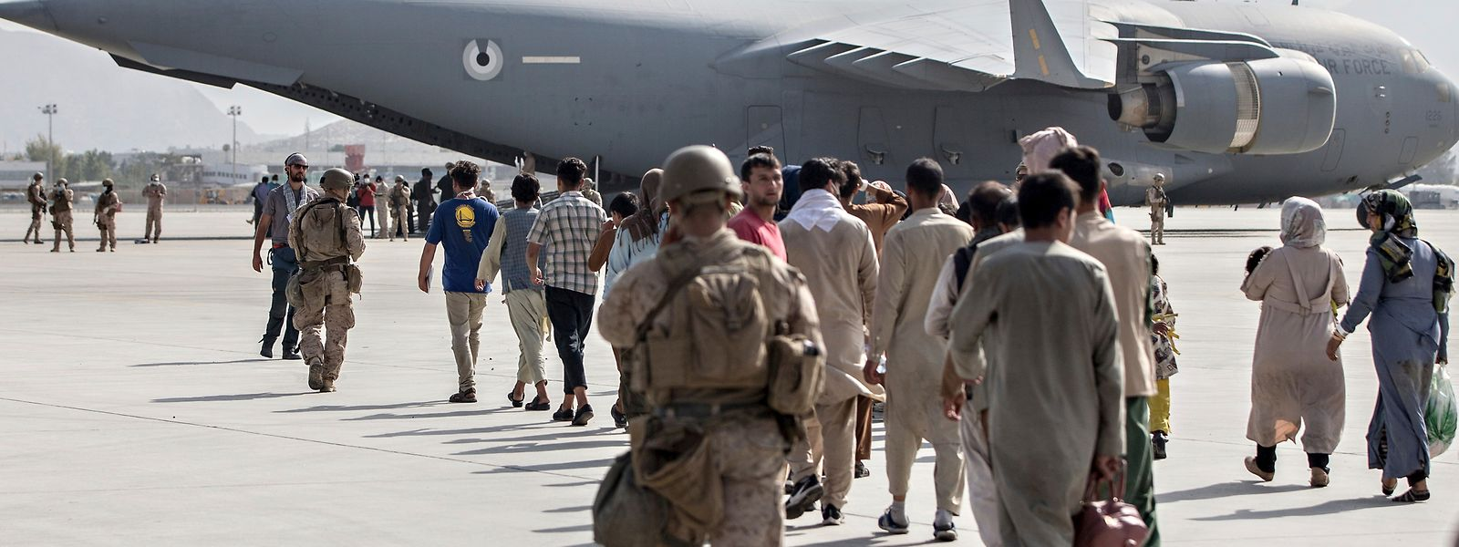 L'A400M belgo-luxembourgeois a quitté lundi en fin de matinée l'aéroport d'Islamabad vers la Belgique. A son bord, 93 ressortissants et résidents européens rapatriés d'Afghanistan.