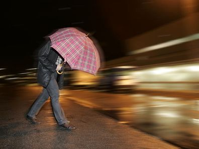 Strong winds and rain are expected on Monday.