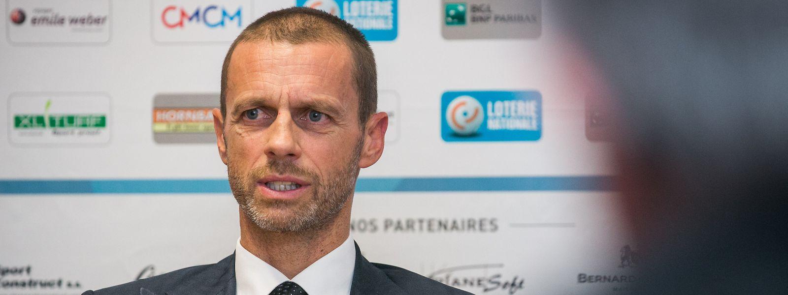 Aleksander Ceferin und die UEFA gehen neue Wege.