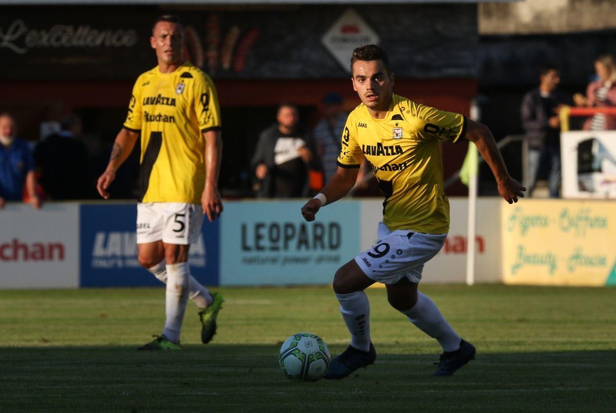 Danel Sinani n'a pas soufflé contre Differdange. Repartira-t-il pour 90 minutes face au Legia?