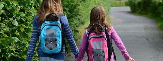 Der Schulweg sollte bereits vor dem ersten Schultag trainiert werden.