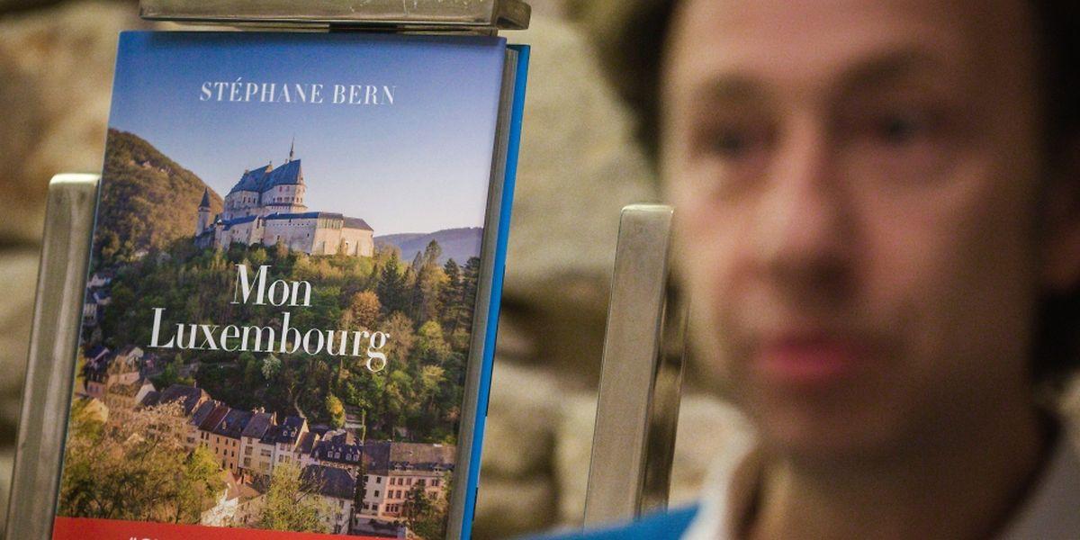 Stéphane était à Luxembourg ce vendredi pour présenter son nouveau livre