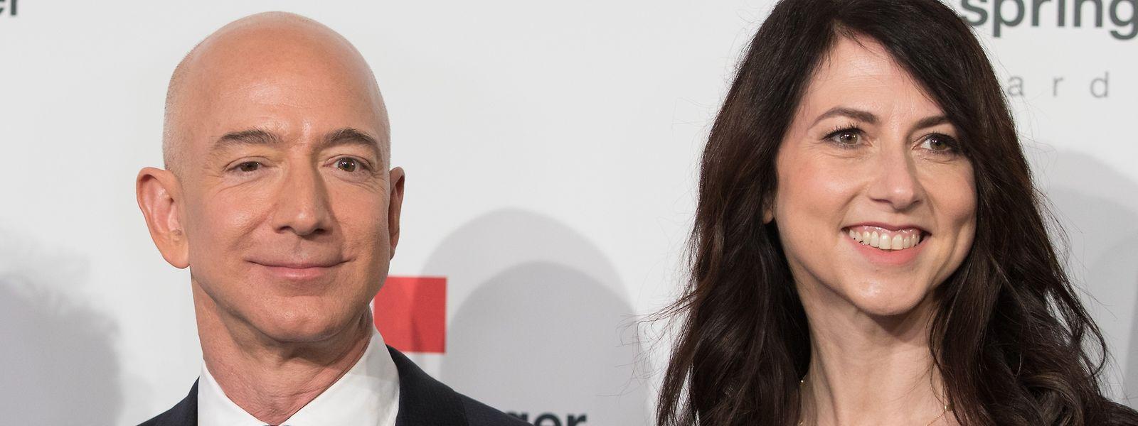 Amazon-Chef Jeff Bezos und MacKenzie Scott sind seit 2019 getrennt.