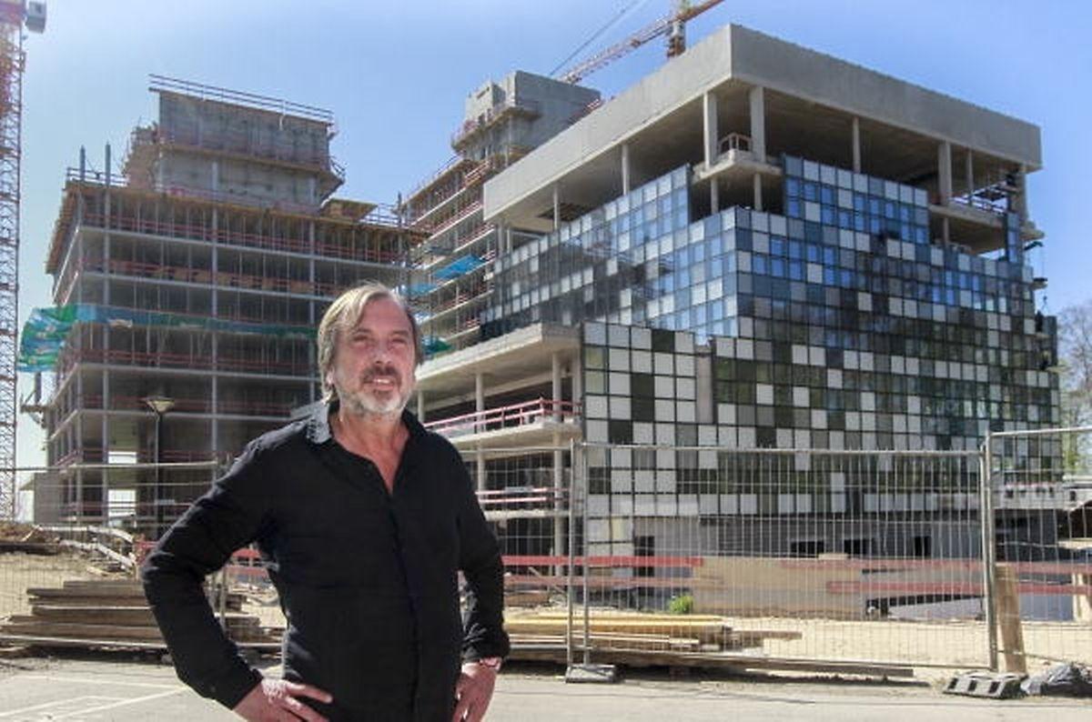 Alain Berwick, CEO de RTL Luxembourg, aimerait que les travaux du futur siège de RTL Group, soient parachevés à la fin 2016.