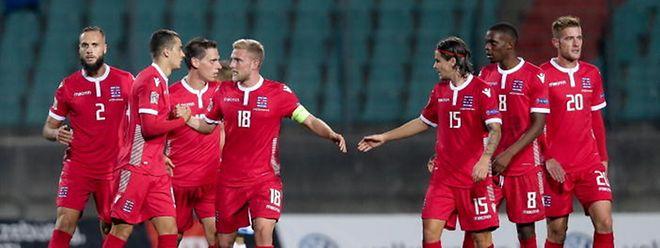 Les Roud Léiwen se sont fait plaisir contre Saint-Marin, lors de la Ligue des Nations à l'automne 2018.