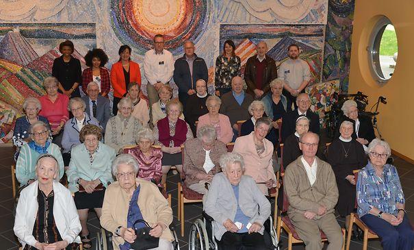 Rosen für 33 Jubilare im HPPA Mersch