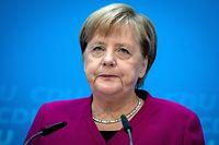 Angela Merkel, Bundeskanzlerin und Vorsitzende der CDU, räumte Fehler bei der Versetzung von Maaßen ein.