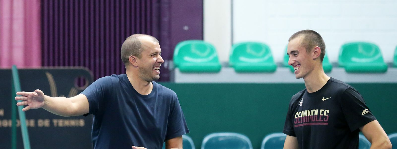 Gilles Muller setzt auf die Unbekümmertheit von Spielern wie Alex Knaff.