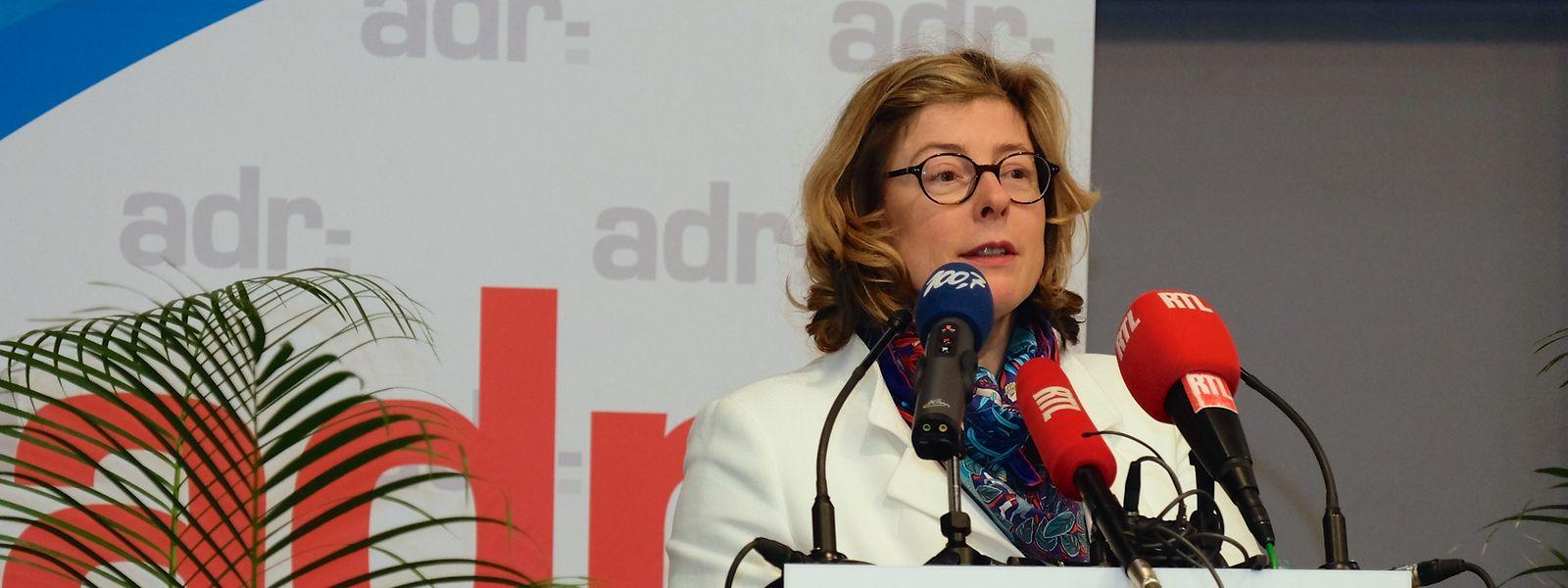 Sylvie Mischel legt ihre Parteiämter bei der ADR bis auf Weiteres nieder.