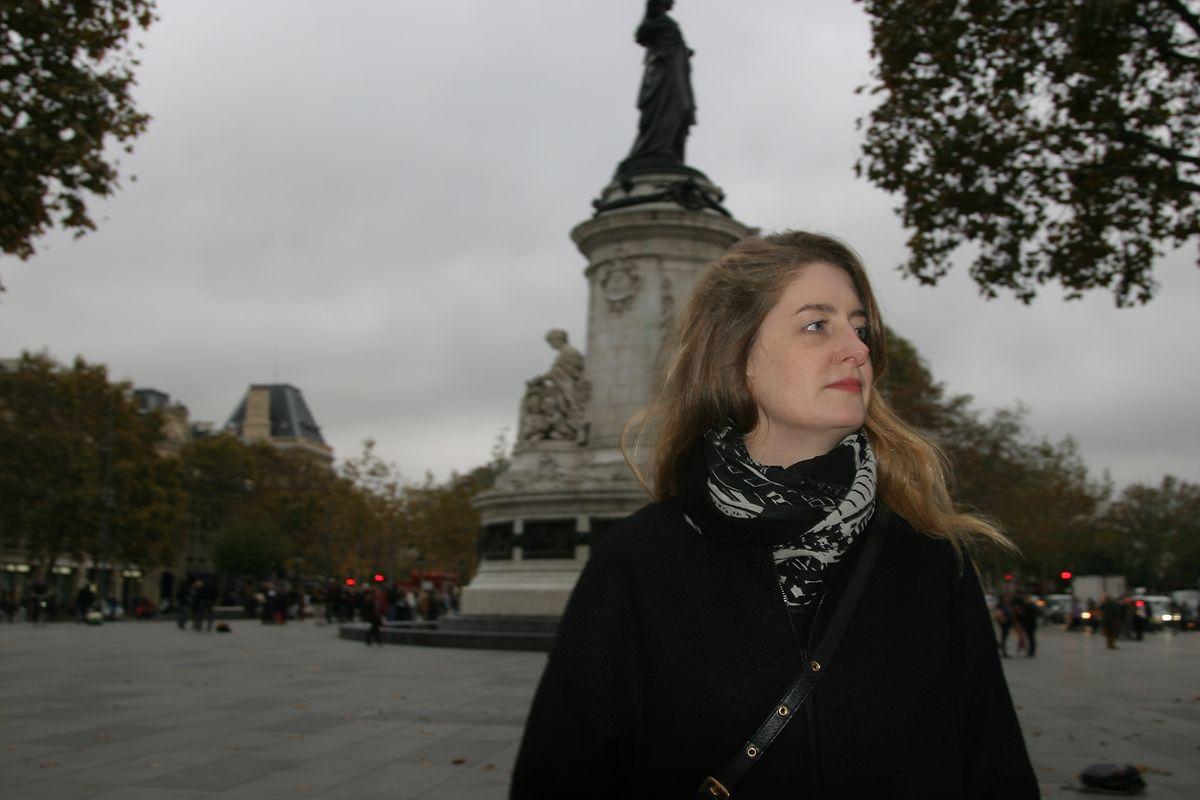 Françoise Mathay: «Il y a des vigiles partout qui ouvrent les sacs et te scannent. C'est quand il n'y en a pas que je me pose des questions.»