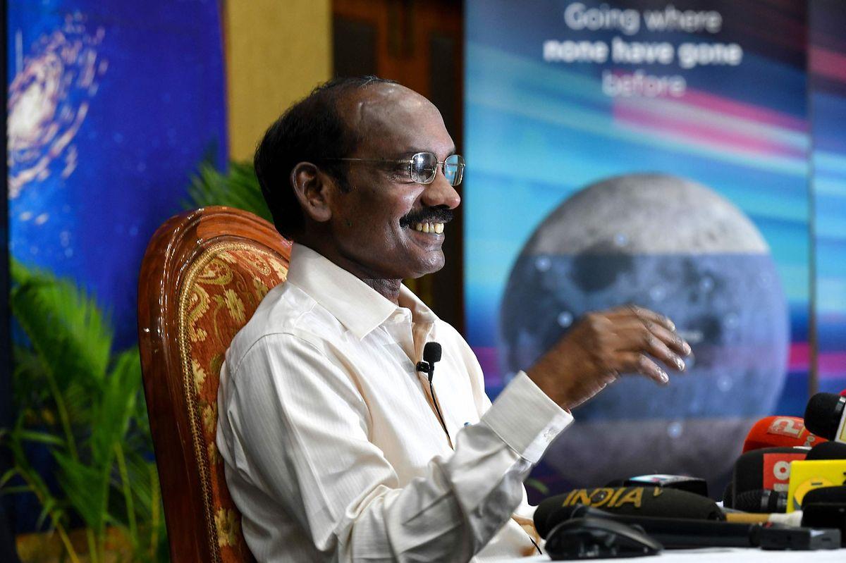 «Je suis extrêmement heureux d'annoncer que le GSLV-MkIII a placé avec succès Chandrayaan-2 sur son orbite définie», a déclaré Kailasavadivoo Sivan, le président de l'ISRO.