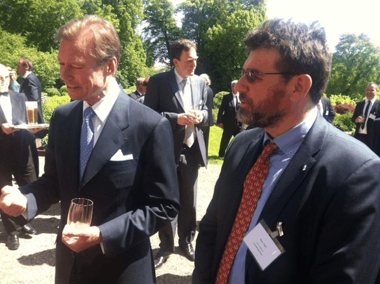O grão-duque Henri recebeu a comunicação social luxemburguesa esta manhã