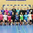 15 Handball Frauen Nationalmannschaft Trainingslehrgang in Dudelingen unter der Leitung von Nationaltrainer Nikola MALESEVIC am 22.02.2017