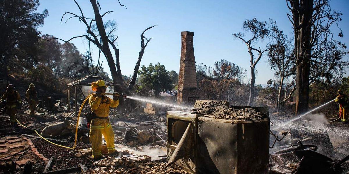 Der Bericht nennt unter anderem die schweren Buschbrände in Kalifornien als spürbare Folge des Klimawandels.