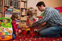 Congé parental,!!!! à utiliser uniquement pour illustrer le congé parental. Foto:Gerry Huberty