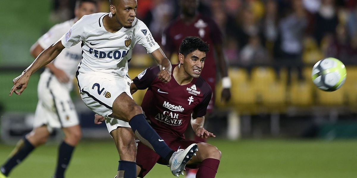 Le FC Metz de Geronimo Poblete a finalement plié face au Monaco de Fabinho.