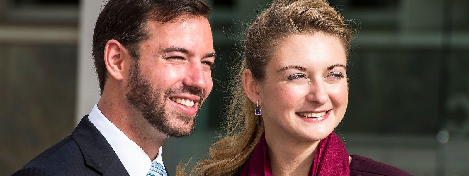 Das erbgroßherzogliche Paar heiratete 2012.