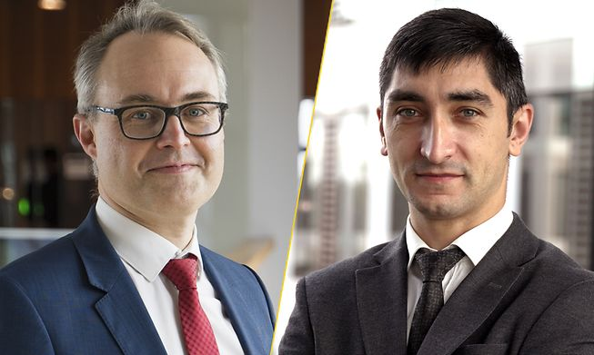 Christophe Vandendorpe, Partner, Strategy and Transactions Leader and Eltun Movsumov, Manager, EY Luxembourg