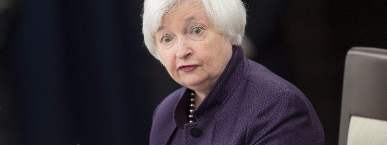 Die US-Notenbank unter Leitung von Janet Yellen hat zum siebten Mal in Folge den Leitzins unangetastet gelassen.