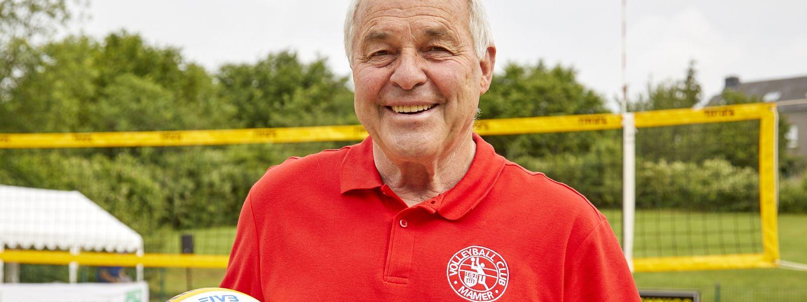 Seit 21 Jahren ist Fernand Jeitz der Präsident des VC Mamer.