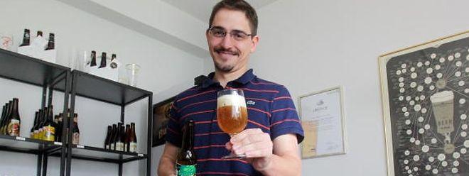 25.08.14 Sebastien Symolka, sommelier de biere au luxembourg.