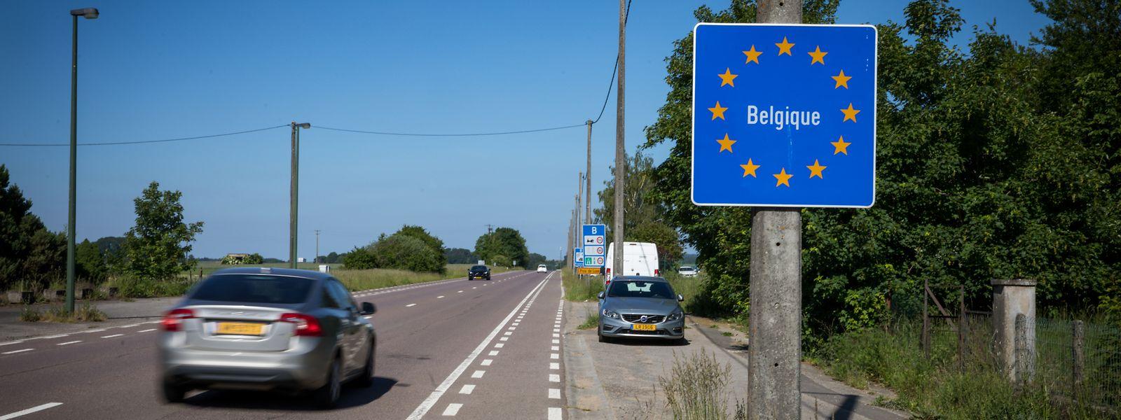 Grenze Belgien Deutschland Offen