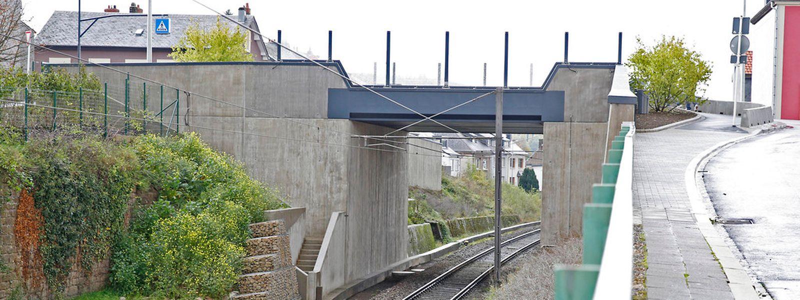 Neue Brücke über die CFL Kayltagstrecke