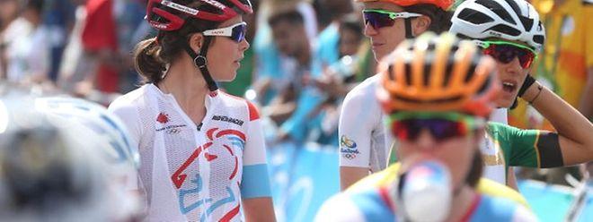 Chantal Hoffmann (roter Helm) und Christine Majerus sind die Vorbilder der jungen Luxemburger Fahrerinnen.