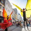 En 2016, les papillons avaient coloré la Grand Rue