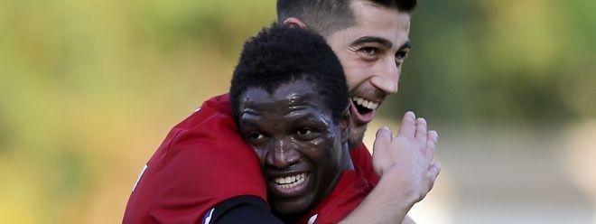 Samir Hadji et Moussa Seydi ont fait vivre un enfer à la défense differdangeoise.