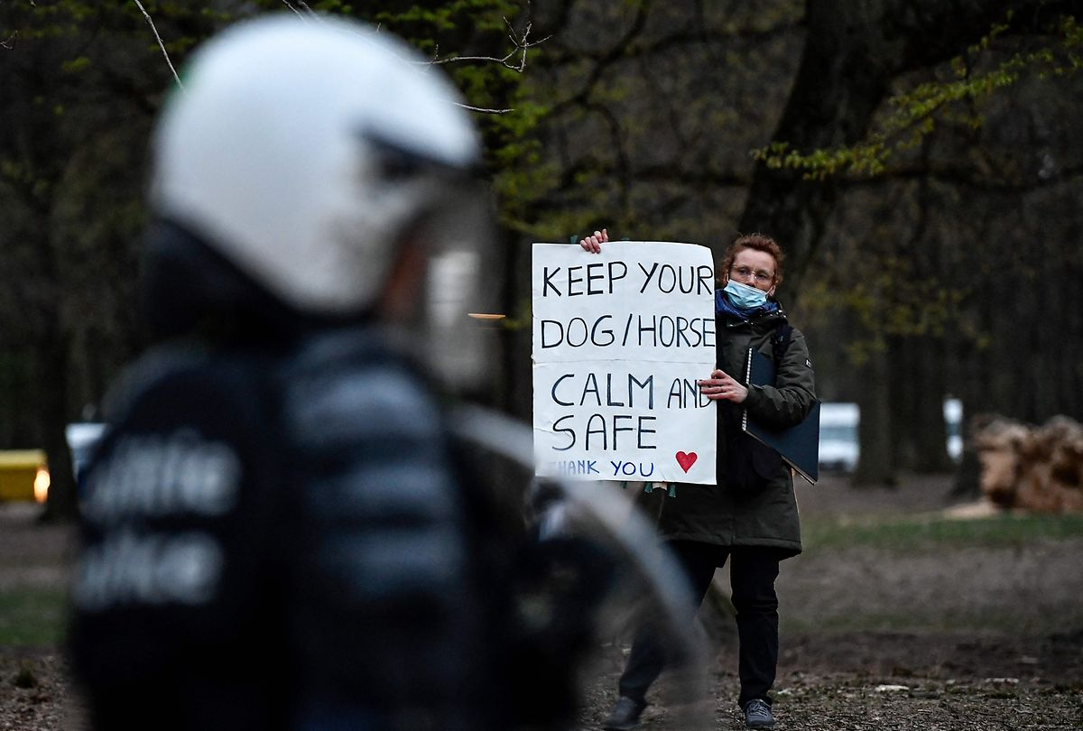 Na sexta-feira passada houve registo de tensões entre jovens e a polícia, em Bruxelas, capital belga, a propósito de um concerto falso que juntou mais de 2.000 jovens no Parque Bois de la Cambre. Evento tinha sido publicitado nas redes sociais a propósito do Dia das Mentiras.