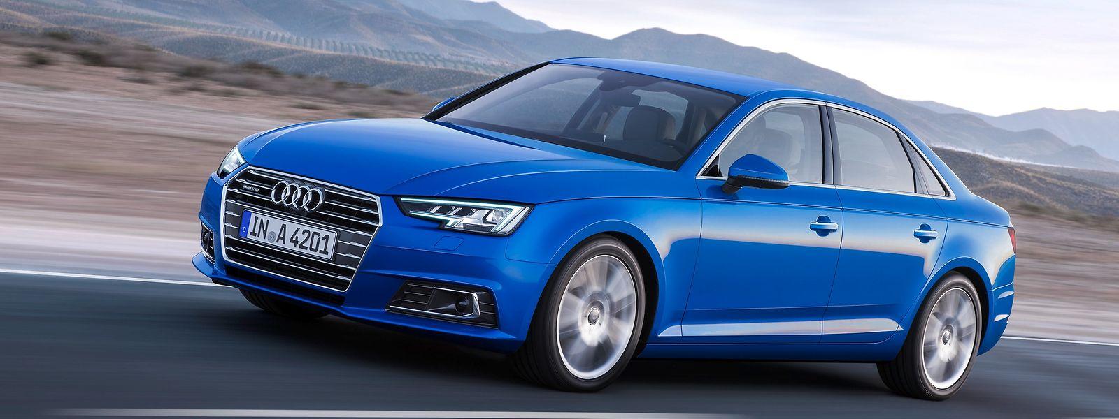 Der neue Audi A4.