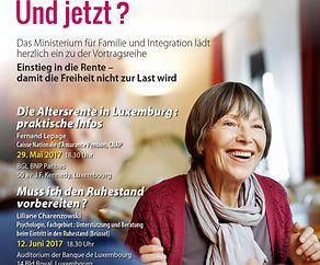 Endlich in Rente! Und jetzt? Die Altersrente in Luxemburg: praktische Infos