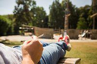Rauchverbot Terrassen und Spielplätze, Foto Lex Kleren