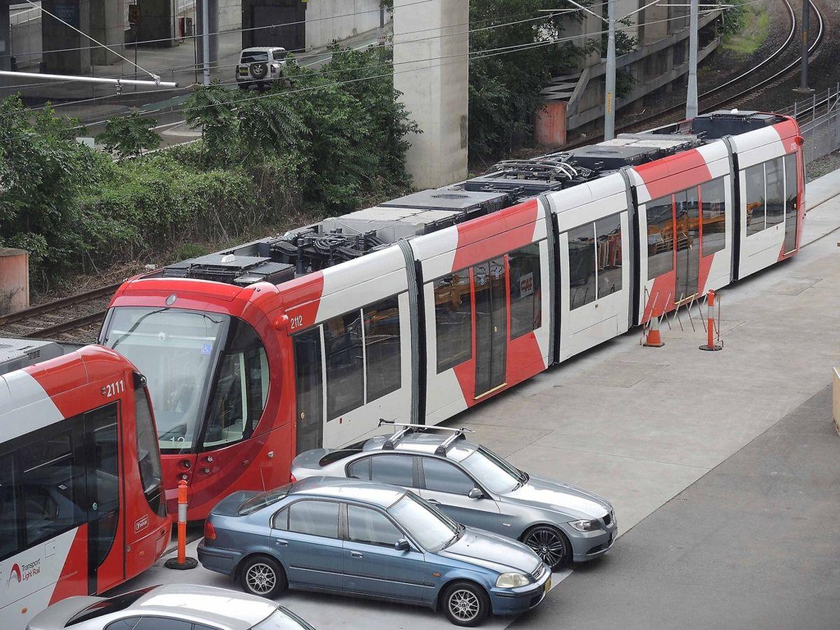Auch Sydney hat sich für Fahrzeuge von CAF entschieden.