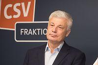 IPO,CdP, CSV Martine Hansen & Claude Wiseler.Affaire Gardenhäischen Traversini. Foto: Gerry Huberty/Luxemburger Wort.