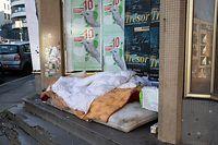 Lok , City Breakfast , Obdachlose in Luxemburg, Foto:Guy Jallay/Luxemburger Wort