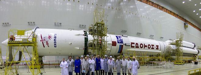 Bereit für den Abflug: Der Start der Proton-M-Rakete ist für den 14. März geplant.