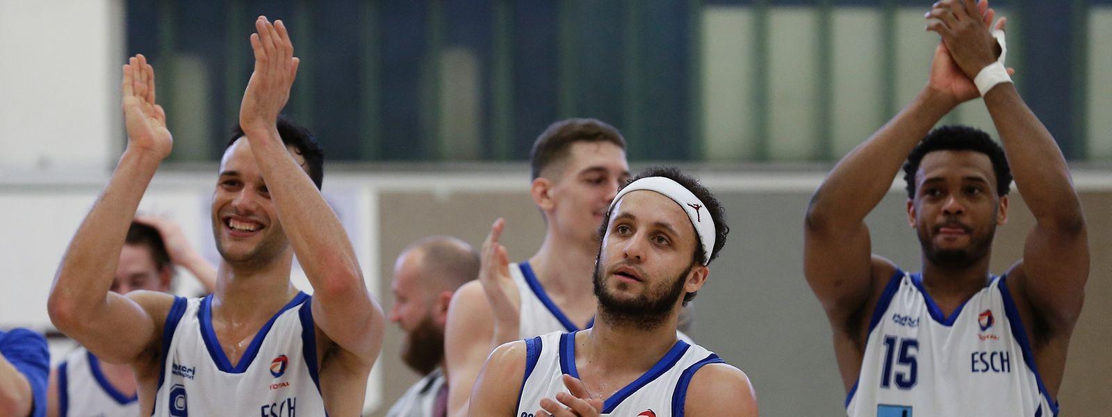 Die Spieler von Basket Esch hatten allen Grund zur Freude.