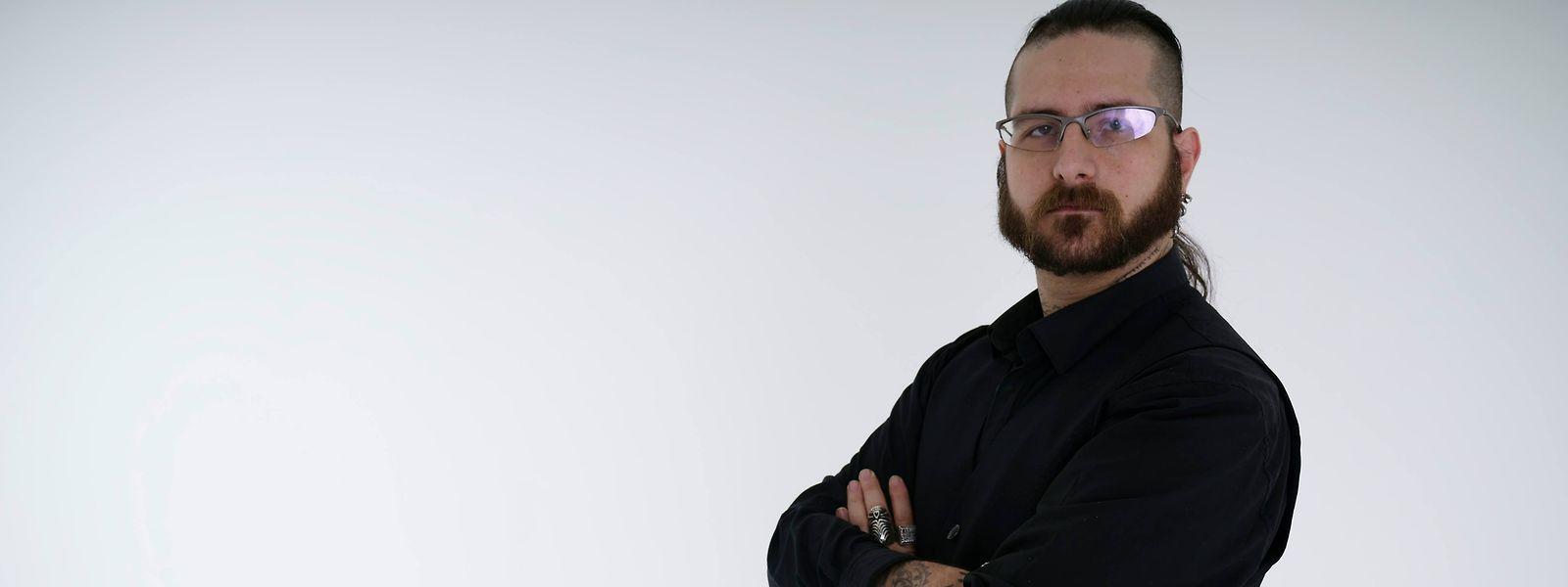 """Steve Melmer, der Vorsitzende der neuen Gruppierung """"Fräi Sozial Alternativ""""."""