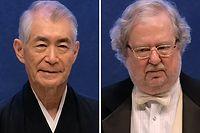 L''Américain James P. Allison et le Japonais Tasuku Honjo.
