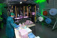 Lokales, Einweihung Santé Services, Schutzmaske Fabrik, covid-19, Coronavirus, Xavier Bettel und Lex Delles, Foto: Chris Karaba/Luxemburger Wort