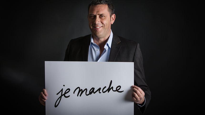 Stéphane Vallance est le référent du mouvement En Marche! pour le Luxembourg.