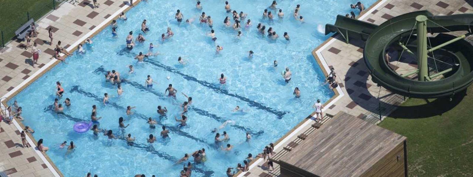 Das beliebte Freibad in Vianden wird am Samstag wiedereröffnet.