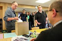 Lokales,Sozialwahlen Saint-Paul Luxembourg.Foto: Gerry Huberty/Luxemburger Wort